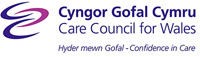 Care council for Wales logo