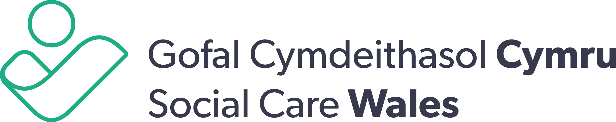 Image result for social care wales logo