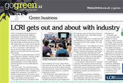 LCRI gets out and about with industry