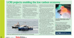LCRI projects enabling the low carbon economy