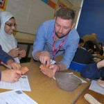 Roman's in Wales Workshop at Cathays High School
