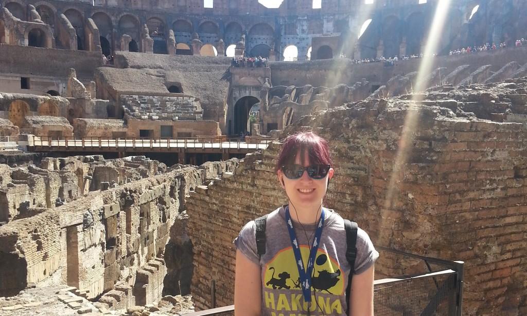 SHARE with Schools 2014-15 student volunteer Lizzie Nicholson